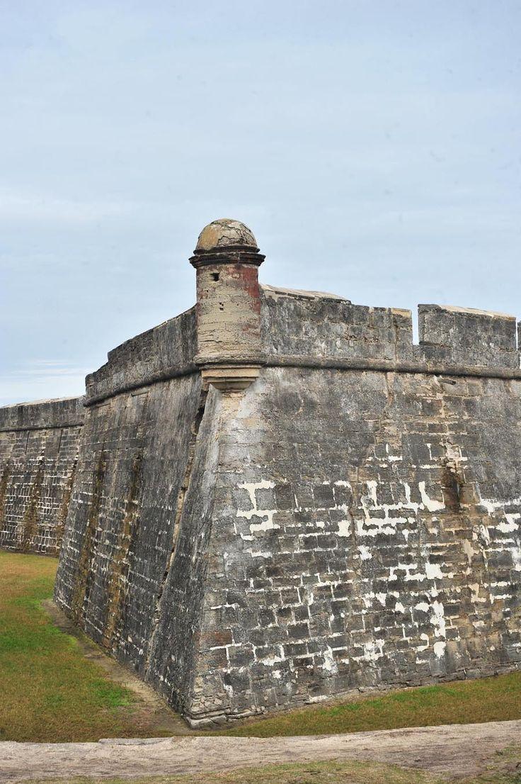 Castillo de San Marcos in Saint Augustine, Florida