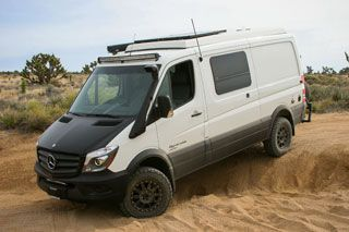Mercedes-Benz Sprinter 4x4. This was Mathew's response when I suggested the Vanagon....