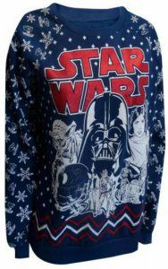 Star Wars Classic Star Wars Ugly Christmas Sweater