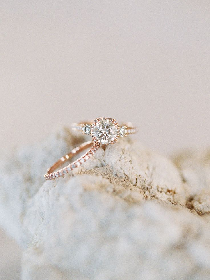 Stunning gold engagement ring: Beautiful Multi Cultural Dallas Wedding