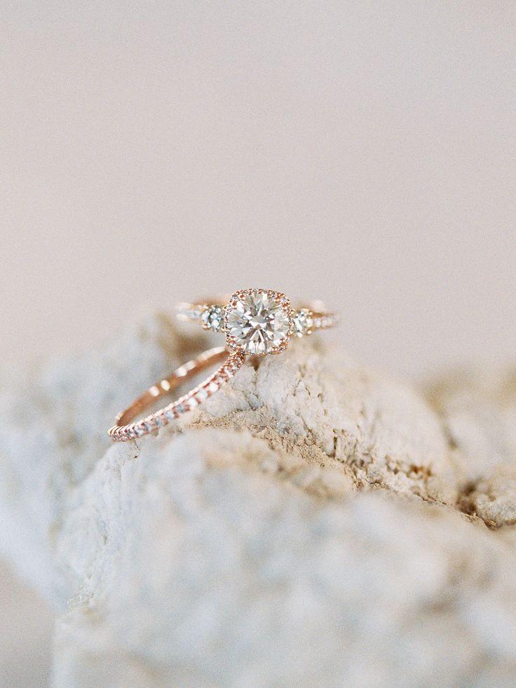 Stunning gold engagement ring: Beautiful Multi Cultural Dallas Wedding