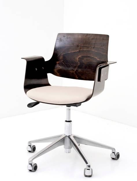 BOGEN33 - Stuhl - Büro-Stuhl - Bürostuhl Formschichtholz 1
