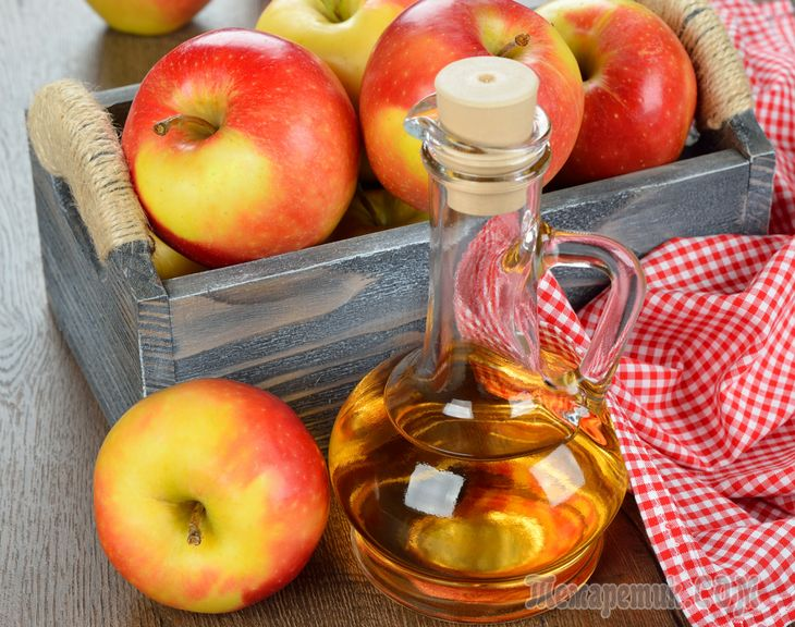 Яблочный уксус — натуральный продукт, который на протяжении нескольких тысячелетий широко используется в кулинарии и альтернативной медицине. В нем содержатся натуральные кислоты, антиоксиданты и пита...
