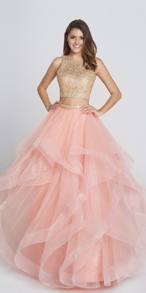 Cute Two Piece Tulle Ball Gown  - Ellie Wilde - EW117156 - $450.00