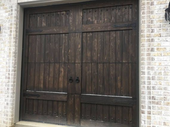 Customizable Wooden Garage Door Garage Door Design Wooden Garage Doors Garage Doors