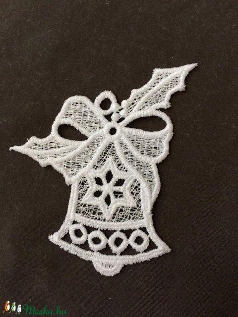 3 db Csipke karácsonyi csengettyű (3db/csomag) (Cottonfresh) - Meska.hu