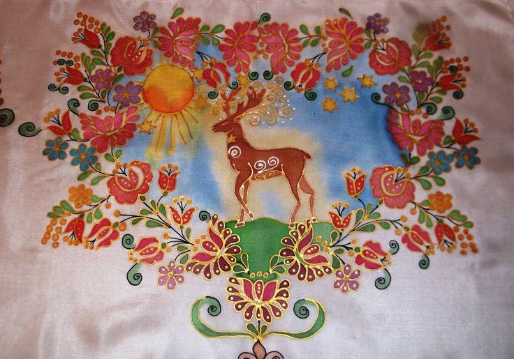 Health Symbol- the hungarian Wonder deer