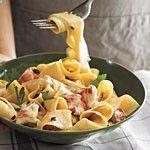 Creamy Lobster Pappardelle Recipe   MyRecipes.com