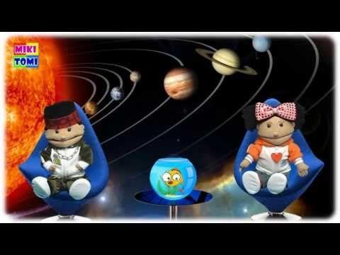 Układ Słoneczny | Planety dla dzieci | Film edukacyjny | Merkury, Wenus, Ziemia, Mars - YouTube