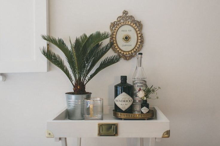 DIY Bar | Tray Table Hack | Image By Anna From We Are // The Clarkes