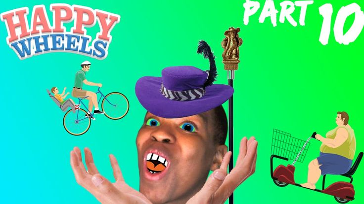 I'm Jacksepticeye? - Happy Wheels - Part 10