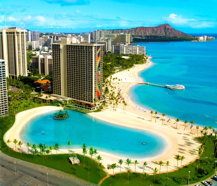 Hilton Hawaiian Village in Hawaii is the ideal luxury honeymoon destination. Easy Weddings honeymoon packages are all inclusive, fun, romantic and exotic.
