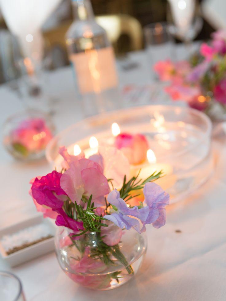 Sweet Peas Direct Wedding Table Decoration