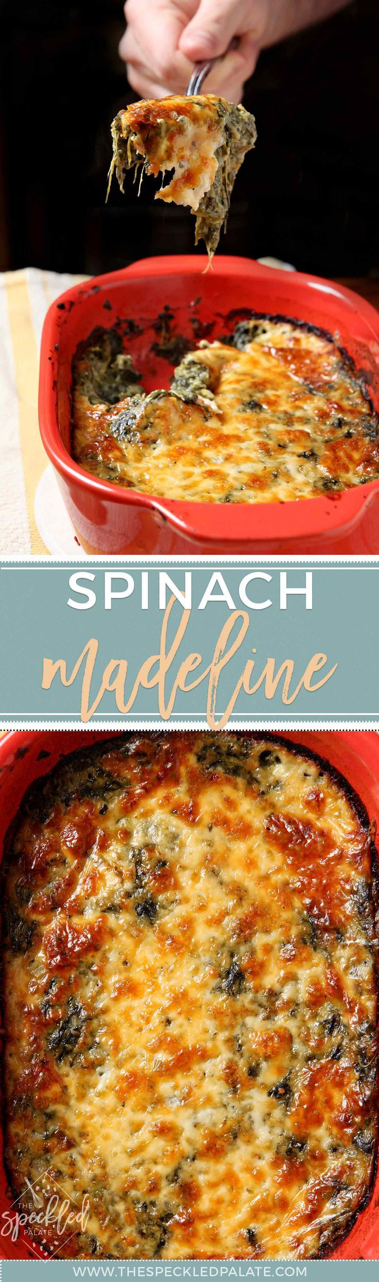 Spinach Madeline | Unique Side Dish | Cheesy Spinach Recipe | Spicy Spinach Recipe | Family Holiday Side | Thanksgiving Side | Christmas Side | Valentine's Day Side | Easter Side | Holiday Recipe