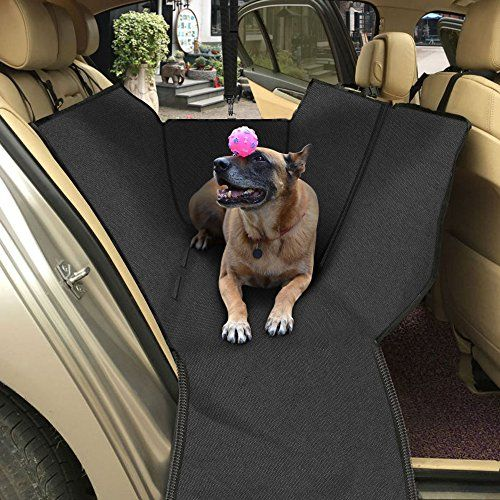From 17.99 Topist Dog Car Seat Cover Waterproof Durable Oxford Cloth Auto Rear Seat Cover Dog Travel Hammock With Side Protection And Pet Car Safety Belt Protect Your Cartruck Or Suv From Dirt Hair Or Scratch- 63 X 55inch http://www.relaxingdoggy.com/product-category/car-accessories/vehicle-ramps/
