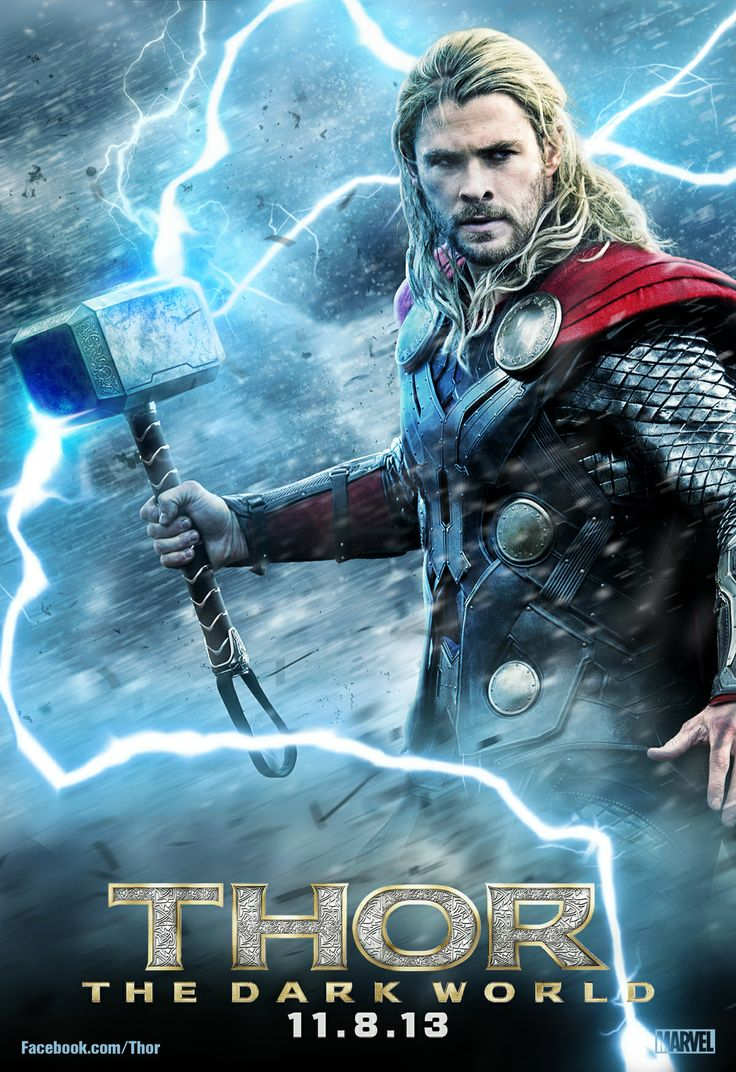 thor the dark world key art movie poster artwork by