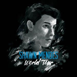 Shawn Mendes world tour poster