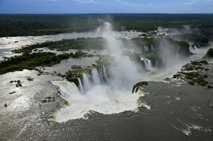Iguazu waterfalls, Misiones province, Argentina and Brazil