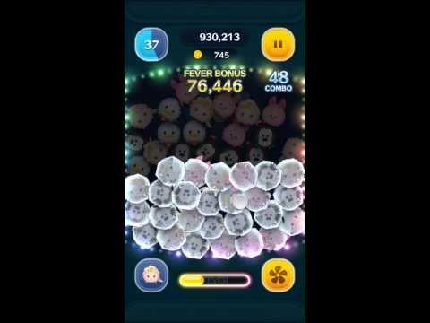 Tsum Tsum - Elsa - Skill Level 6 Gameplay Coin Hack Working 2016 - YouTube