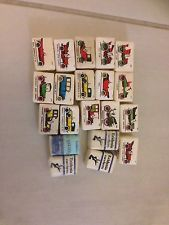 20 Bustine Zollette Di Zucchero Eridania Rare Automobili