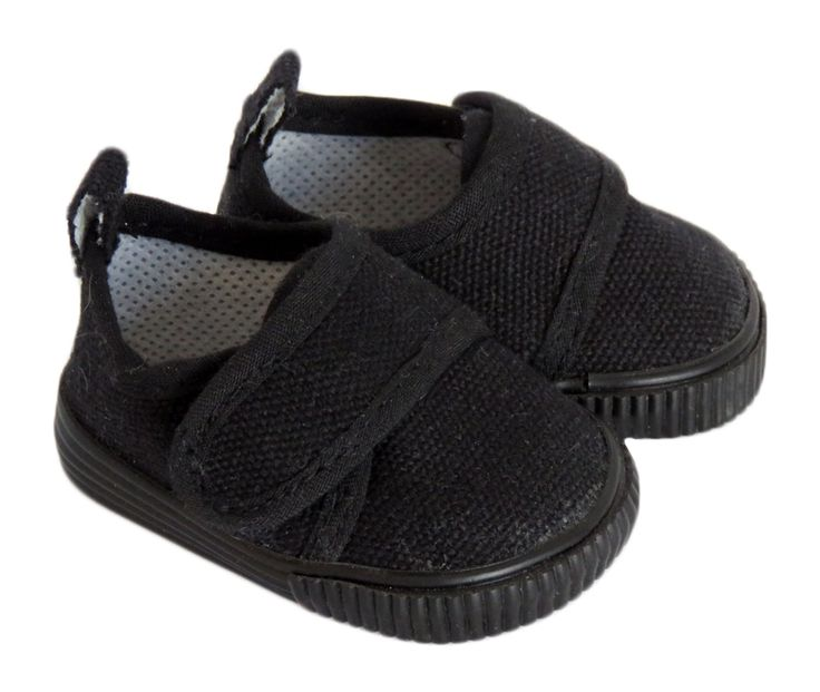 Silly Monkey - Black Canvas Casual Shoes for American Boy Doll, $6.50 (http://www.silly-monkey.com/products/black-canvas-casual-shoes.html)