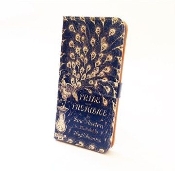 Book phone /iPhone flip Wallet case-Pride and by chicklitdesigns