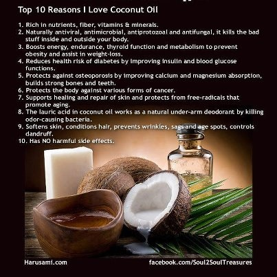 nutritional value of coconut oil pdf