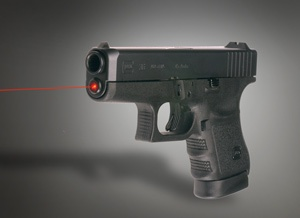 Glock 9mm with laser sight...own it ♥