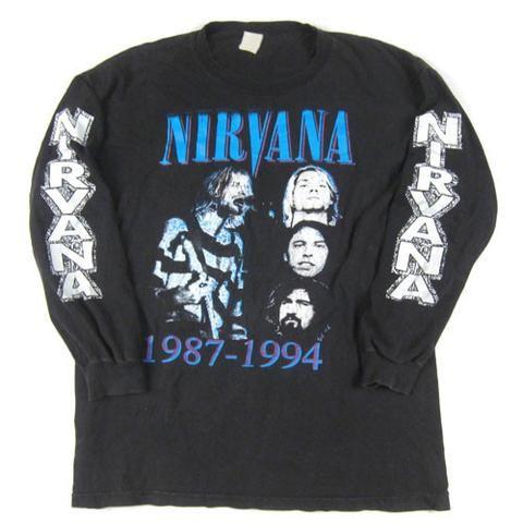 Vintage Nirvana Long Sleeve T-Shirt