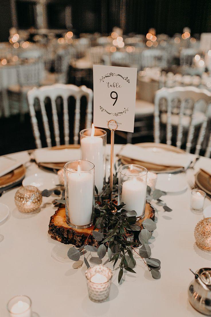 Burgundy & Taupe Wedding
