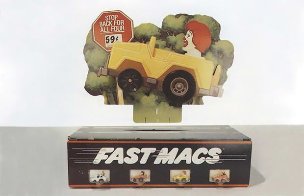 38. Fast Macs - The 50 Coolest Happy Meal Toys of All Time | Complex AU