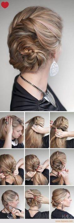 LINK >>15 Penteados Realmente Fáceis para Mulheres Normais que Não Sabem…