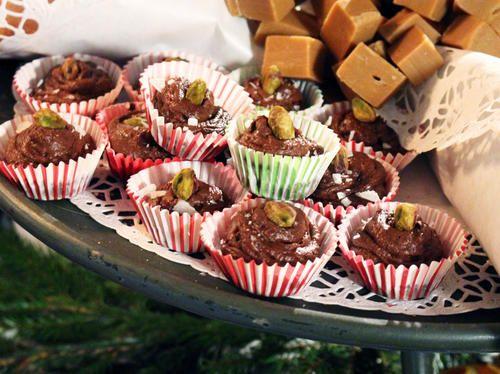 Chokladtryfflar med kastanj