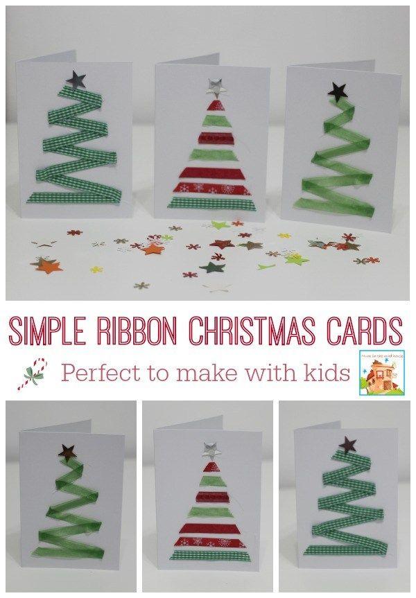 15 DIY Christmas Cards Kids Can Make!