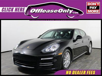 2014 Porsche Panamera 4 Hatchback AWD Off Lease Only Black 2014 PorschePanamera4 Hatchback AWD with 15750 Miles