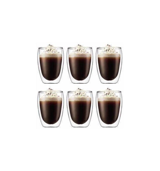 Bodum Pavina Dubbelwandig Glas - 0.35 l - 6 stuks   Wij willen er graag 12 in totaal