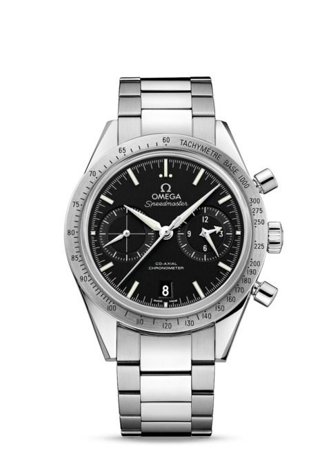 Omega SPEEDMASTER '57 OMEGA CO-AXIAL CHRONOGRAPH 41.5 MM Steel on steel 331.10.42.51.01.001