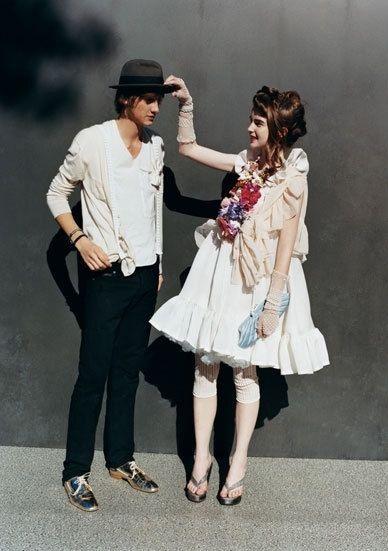 abito, bianco, love, menswear, models, stile lolita