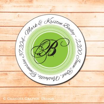 return address labels by Granger Graphic Design