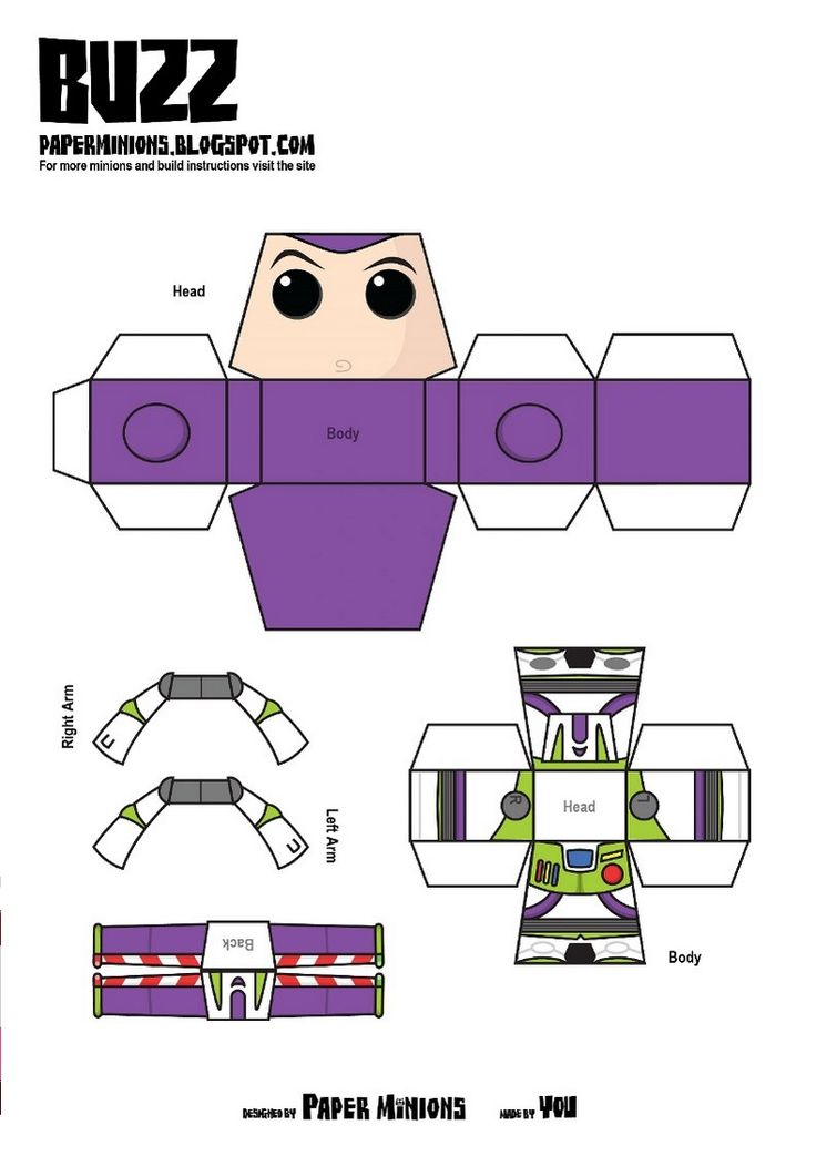 PaperToy_Disney Buzz
