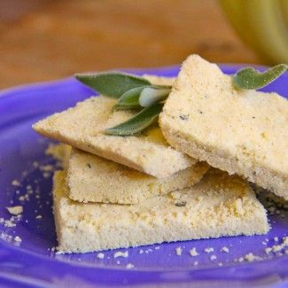 Gluten-Free Cornmeal Shortbread Recipe « Go Bold with Butter
