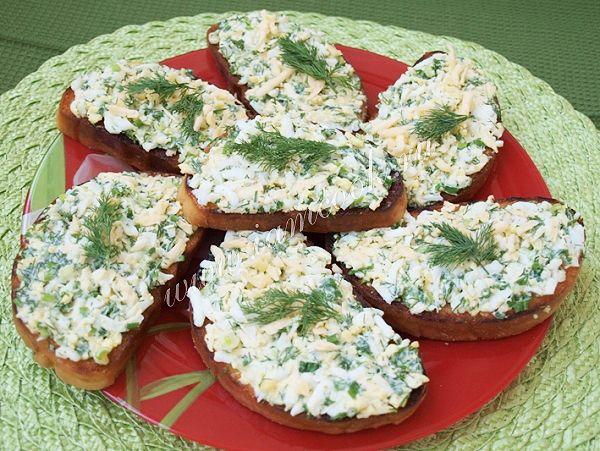 Домашние гренки с сыром