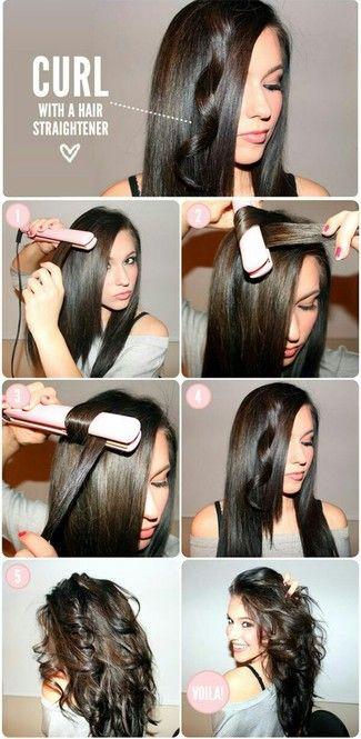 ストレートアイロンで簡単ゆるふわ♡5種類の巻き髪ウェーブ - Locari(ロカリ)