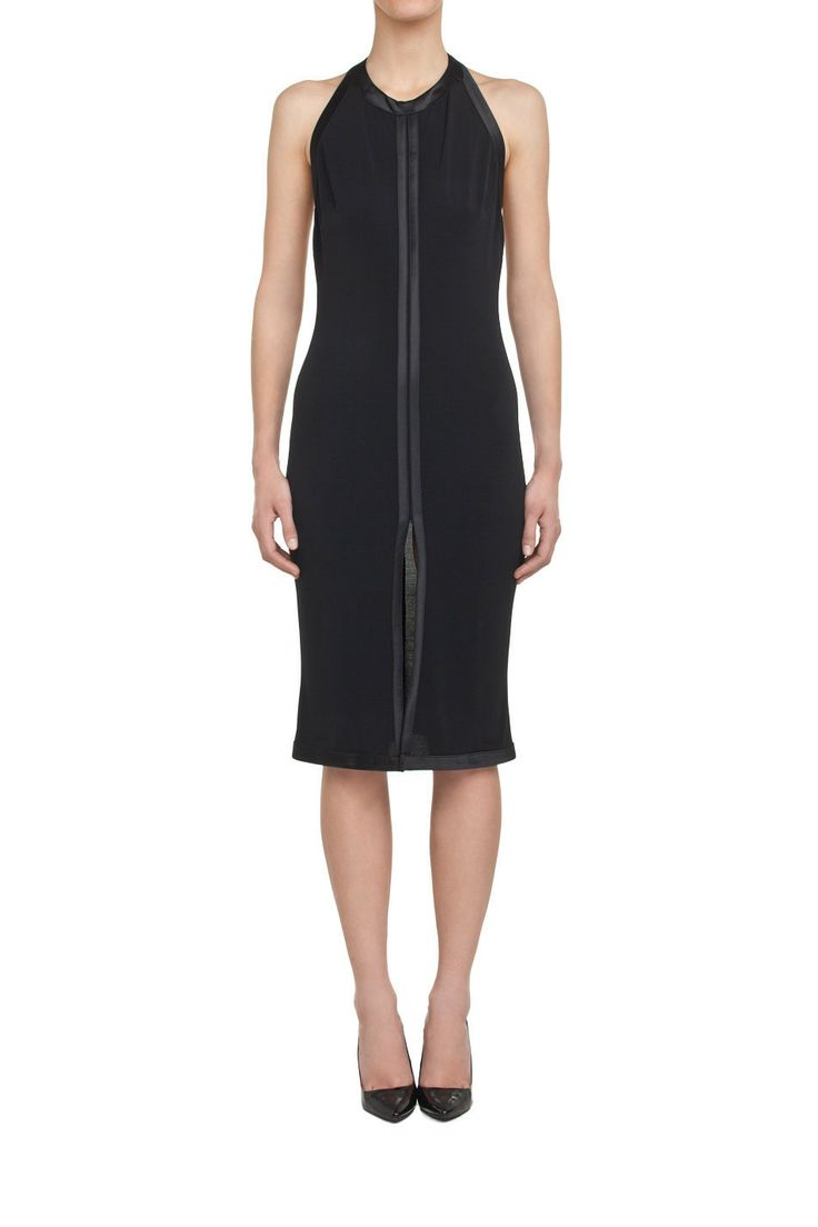 Sukienka z odkrytymi plecami czarna | Ubrania \ Sukienki \ Mini Ubrania \ Sukienki \ Koktajlowe Ubrania \ Wszystkie ubrania PROJEKTANCI \ Muses Urbanska&Komornicka Sukienki Wszystkie ubrania W tym tygodniu | MOSTRAMI.PL