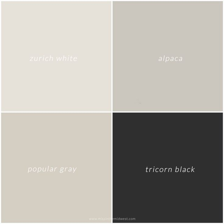 Sherwin Williams Modern-Style Farmhouse Paint Colors