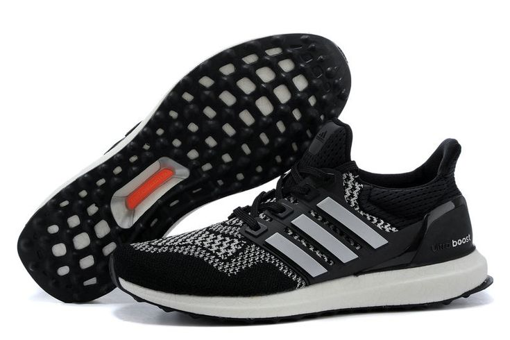 adidas Ultra Boost 2016-2017 Black White Silver Oreo UK Trainers 2017/Running Shoes 2017