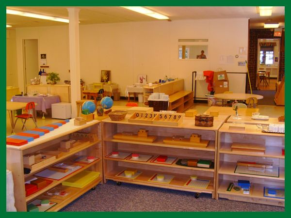 Classroom Decoration Ideas For Montessori ~ This is a clean organized montessori classroom little