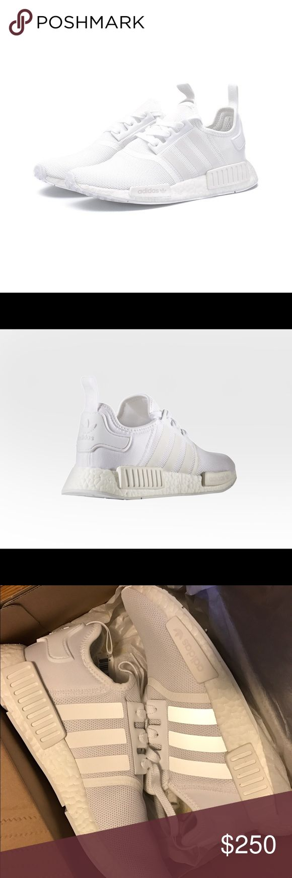 Adidas Originals NMD R1 Women Sz 8.5 White BA7245 Up for sale is a brand new, in box, pair of   Adidas Originals NMD R1   Triple White (BA7245)   US Men Size 7 / Women Size 8.5   100% Authentic and Never Worn Adidas Shoes Athletic Shoes