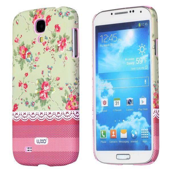 Charming flowers hoesje Samsung Galaxy S4