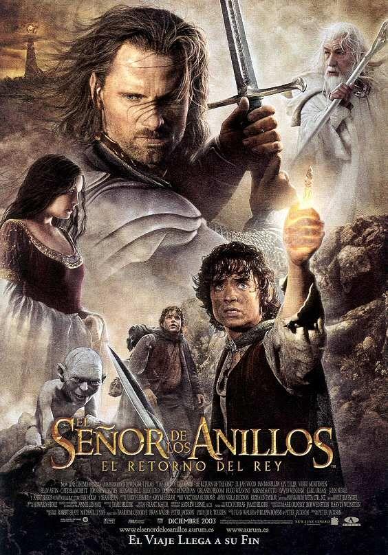 #caratulas de peliculas por A-Z. El señor de los anillos: El retorno del Rey